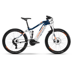 HAIBIKE SDURO FullSeven LT 5.0, white/blue/orange